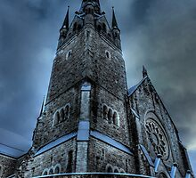 Saintly Steeples by Luke Griffin