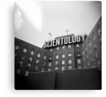Scientology, Fountain St., Los Angeles, CA, July 2010 Canvas Print