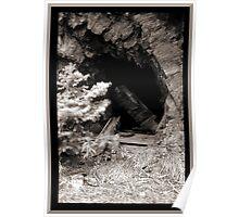 Abandoned Mine Shaft Poster
