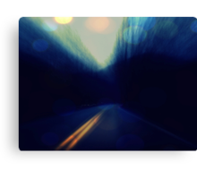 i'd drive all night, just to buy you some shoes Canvas Print