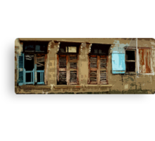 Building in Badagry Canvas Print