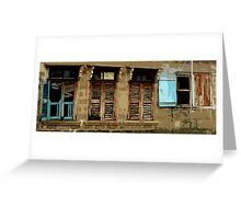 Building in Badagry Greeting Card