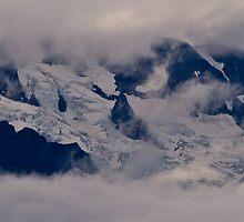 Glacier Panorama by Michael Garson