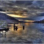 Calm on Loch Lomond by Derek Dobbie