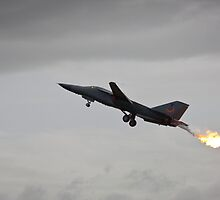 Flaming Jet Fuel by Daniel Peut