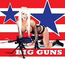 Cammee Lee Big Guns by Brian Gibbs