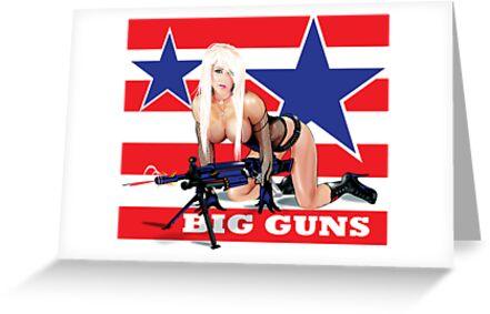 Cammee Lee Big Guns by Brian Gibbs