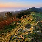 Malvern Hills: Autumn Mists by Angie Latham