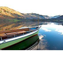 Sailing on Ullswater. Photographic Print