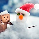 Danbo's First Snowman by Lady-Tori