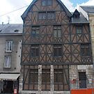 Medieval House, Orléans by Peter Reid