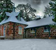 Strathpeffer pump room by John Ellis