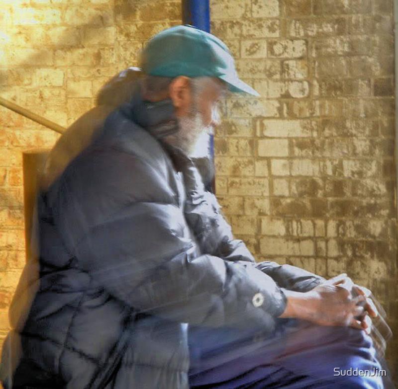 Old Man in Chicago by SuddenJim