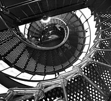 Spiral Staircase by searchlight