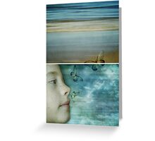 Still Dreaming - Diptych Greeting Card