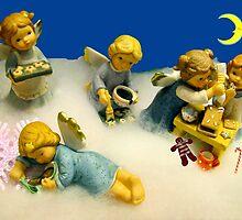 Baking Angels by Detlef Becher