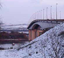 Foyle Bridge by Gerry  Temple
