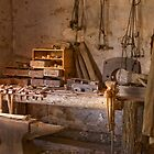 Blacksmith&#x27;s shop, Wilpena station, South Australia by Neville Jones