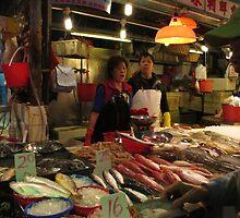 hong kong fish market by klarutshka