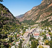 City of Ouray, Colorado, USA by Ann Reece