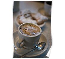 Coffee & Beignets - Cafe Du Monde - New Orleans, Louisiana Poster