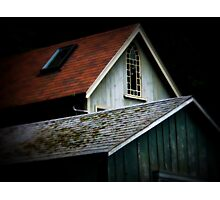 New England Rooftops Photographic Print