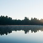 Killarney: Sunrise Over Balsam Lake by Skye Hohmann
