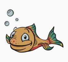 Cartoon fish by Colin Cramm