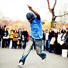 Central Park Performer by Carl Osbourn