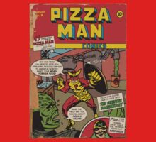 Golden Age Pizza Man by shanamation