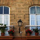 Two windows - Cadiz by Shienna