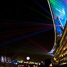 Meydan Light Show by Tony Walton