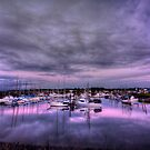 Purple Harbor by Avena Singh