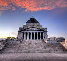 Shrine of Remembrance by Alex Stojan