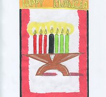 Kwanzaa Candles by DKards
