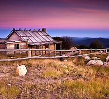 Sunrise at Craigs Hut by John Dekker