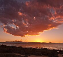 Sunset at Low Head by Robin Young