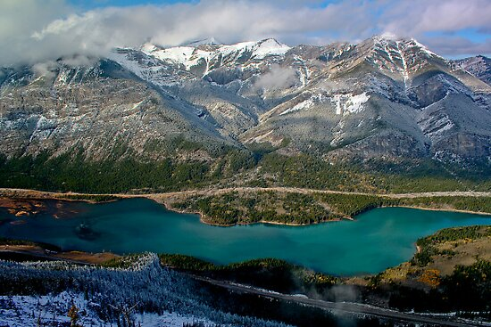 Barrier Lake by Justin Atkins