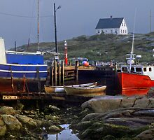 Nova Scotia--Peggy's Cove by milton ginos