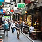 Centre Place, Melbourne by Nicole a Alley