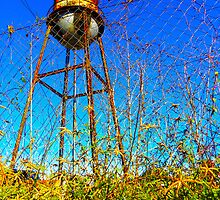 Water Tower Study Two by designerbecky