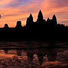 Dawn over Angkor Wat, Cambodia by Ainslie Keele