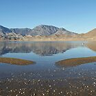 Lake Isabella Reflections on a Winter's Afternoon After Several Days of Rain by Corri Gryting Gutzman