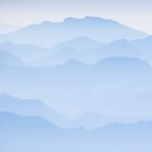Blue Dawn - Julian Alps in Slovenia by toonartist
