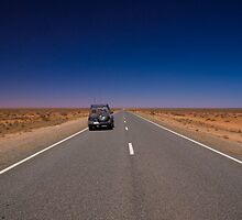 Barrier Highway, South Australia by Neville Jones