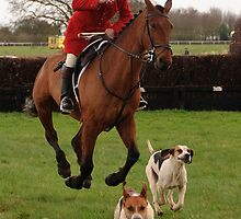 Essex & Suffolk Hunt at Higham by Christopher Cullen