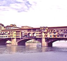 Ponte Vecchio by David Davies