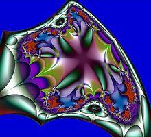 Metal Blossom with Rectangular Limit  (FSK3659) by barrowda