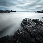 Troubled Waters - Clachtoll Bay Scotland by toonartist