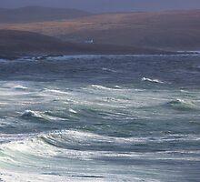 Stormy Waters - Northwest Coast of Scotland by toonartist